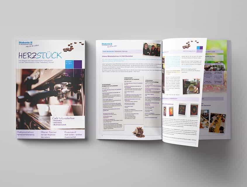 Diakonie Fulda, Kundenmagazin, Loftagentur