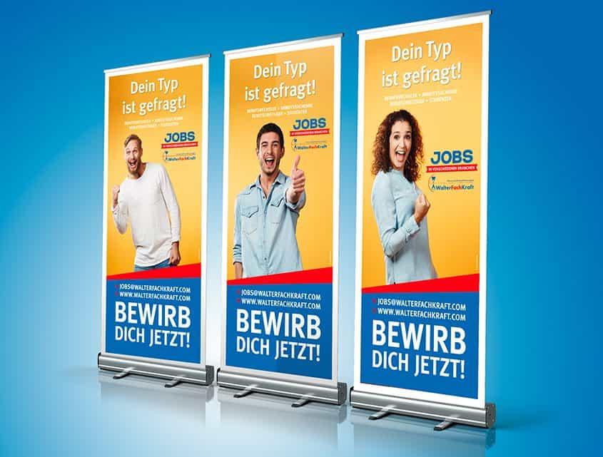 WalterFachKraft, Recruiting-Kampagne, Loftagentur