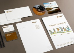 Corporate Design, Logo, Briefbogen, Visitenkarte - Musikschule Klee