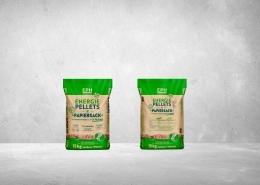 EnergiePellets im Papiersack - Verpackung EP-Hosenfeld