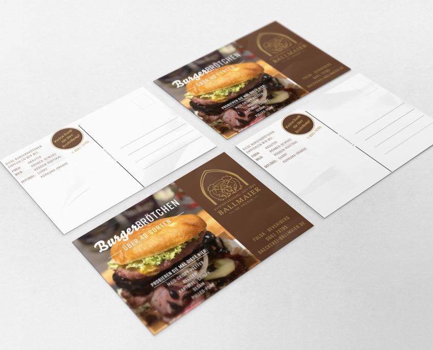 reminder-postkarte-burger-broetchen-ballmaier